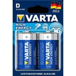 "Varta Mono (D) Batterien ""High Energy"" 2er Pack"