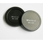 Pixel Lens Rear Cap MC-22B + Body Cap MC-22L für Micro Four Thirds