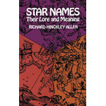 Dover Buch Star Names: Their Lore and Meaning