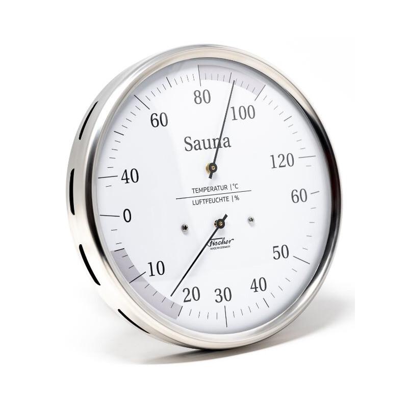 Fischer Wetterstation Sauna-Thermohygrometer 160 mm 195.01